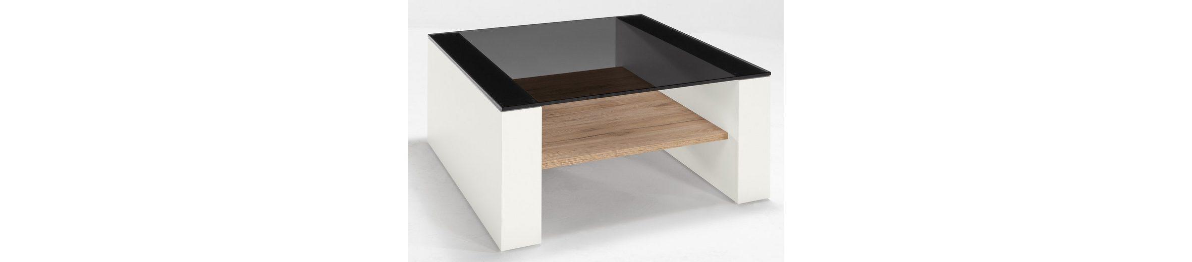 set one by Musterring Couchtisch mit Glasplatte »arizona«, Breite 75 cm