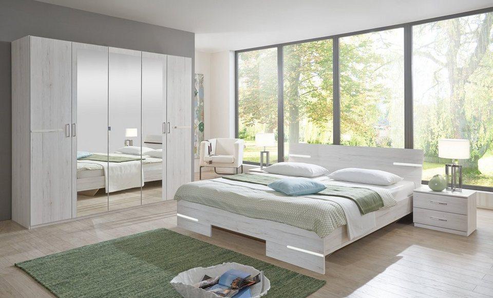 Wimex Schlafzimmer-Set »Anna«, Schlafzimmer mit Schrank, Bett und 2  Nachttische online kaufen | OTTO
