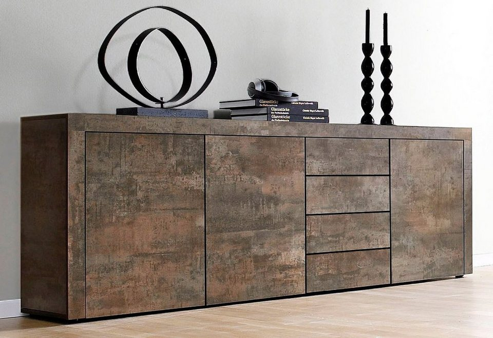 borchardt m bel sideboard breite 201 cm kaufen otto. Black Bedroom Furniture Sets. Home Design Ideas