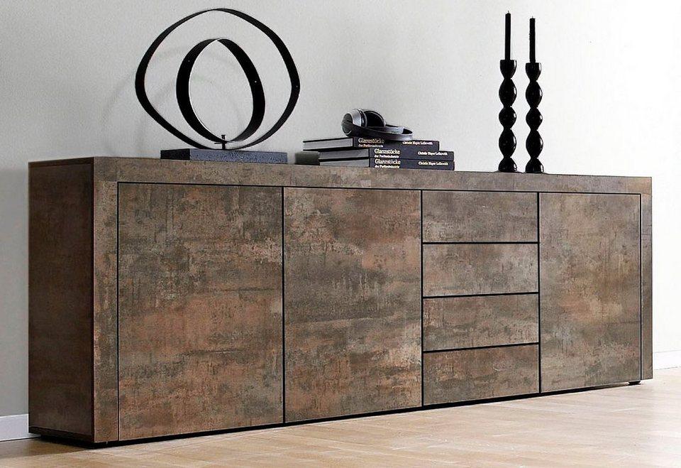 borchardt m bel sideboard breite 201 cm kaufen otto. Black Bedroom Furniture Sets. Home Design Ideas