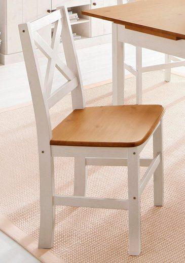 Home affaire 4-Fußstuhl »Stuhlparade« (Set, 2 Stück)