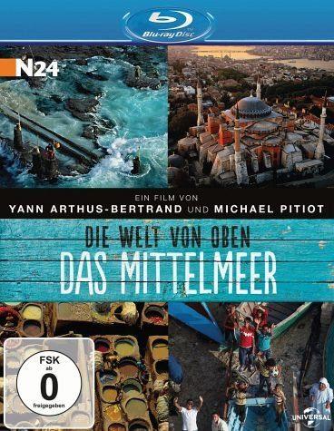 Blu-ray »Die Welt von oben - Das Mittelmeer«