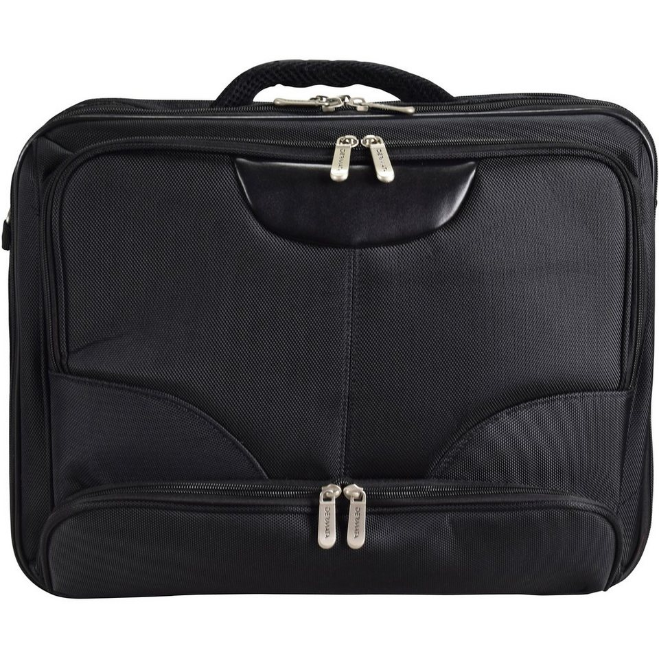 Dermata Aktentasche 44 cm Laptopfach in schwarz