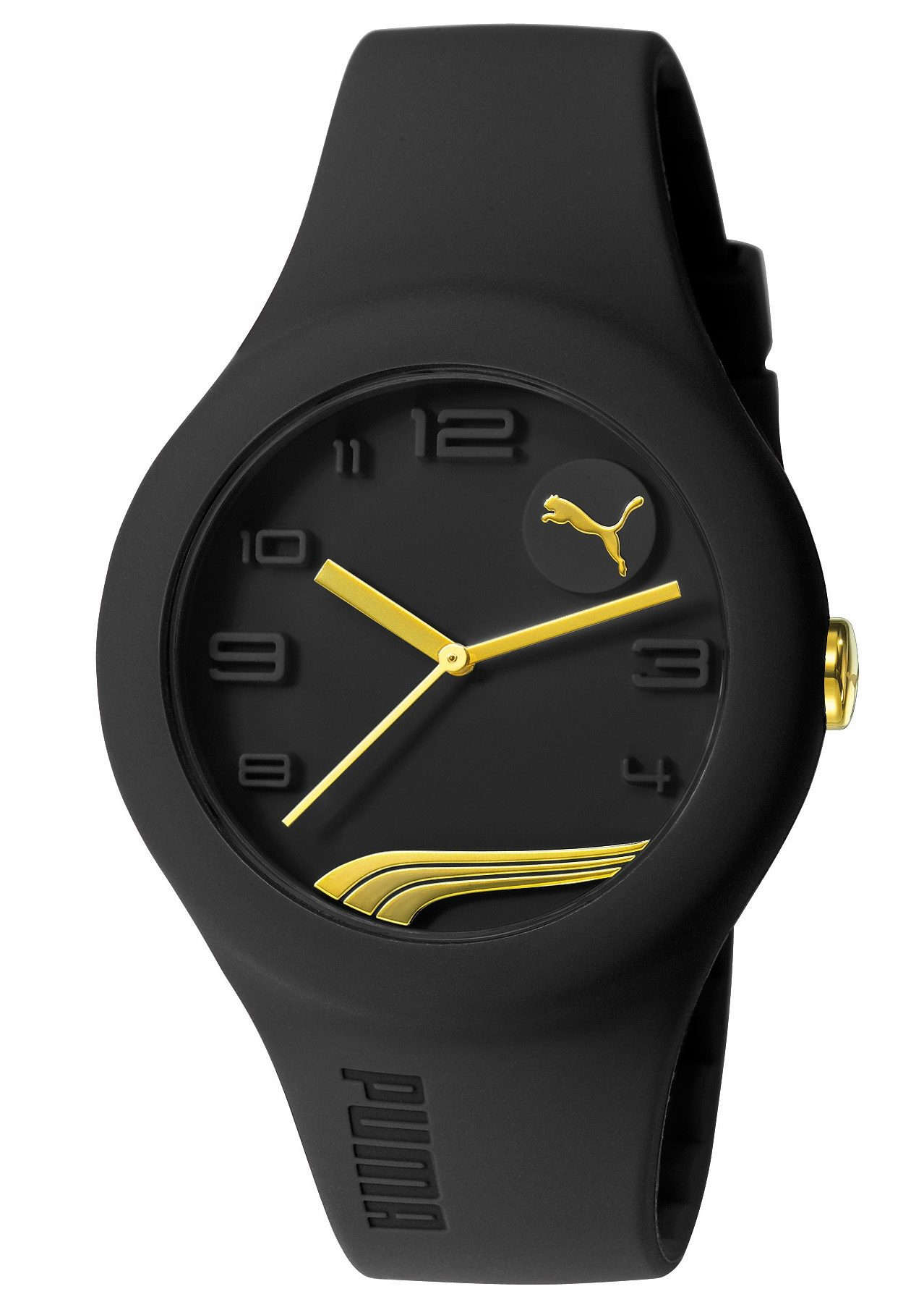 PUMA Quarzuhr »PUMA 10300 FORM - Black Gold, PU103001014«