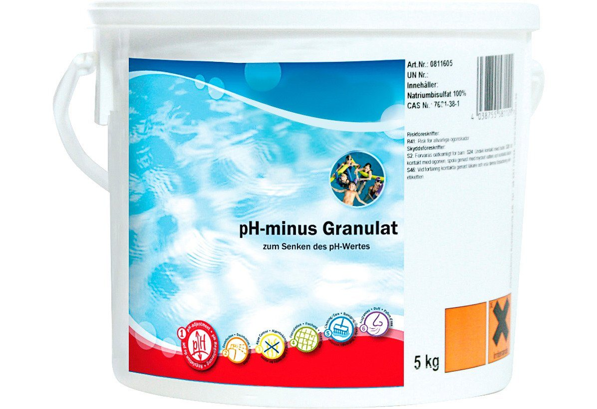 pH-Regulierung »pH-Minus Granulat 5 kg Eimer«