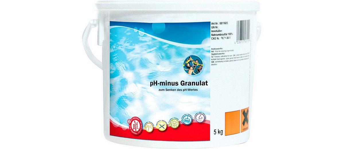 pH-Regulierung »pH-Minus Granulat 5 kg Eimer«