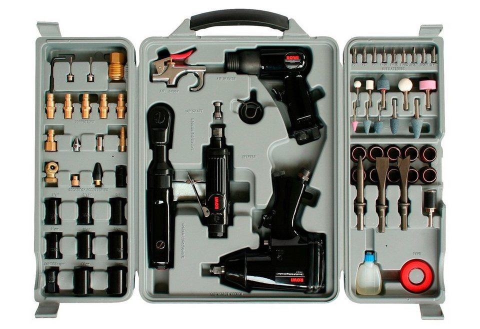 Rowi Werkzeugset »DWZ 71/1« (71-tlg.) in grau