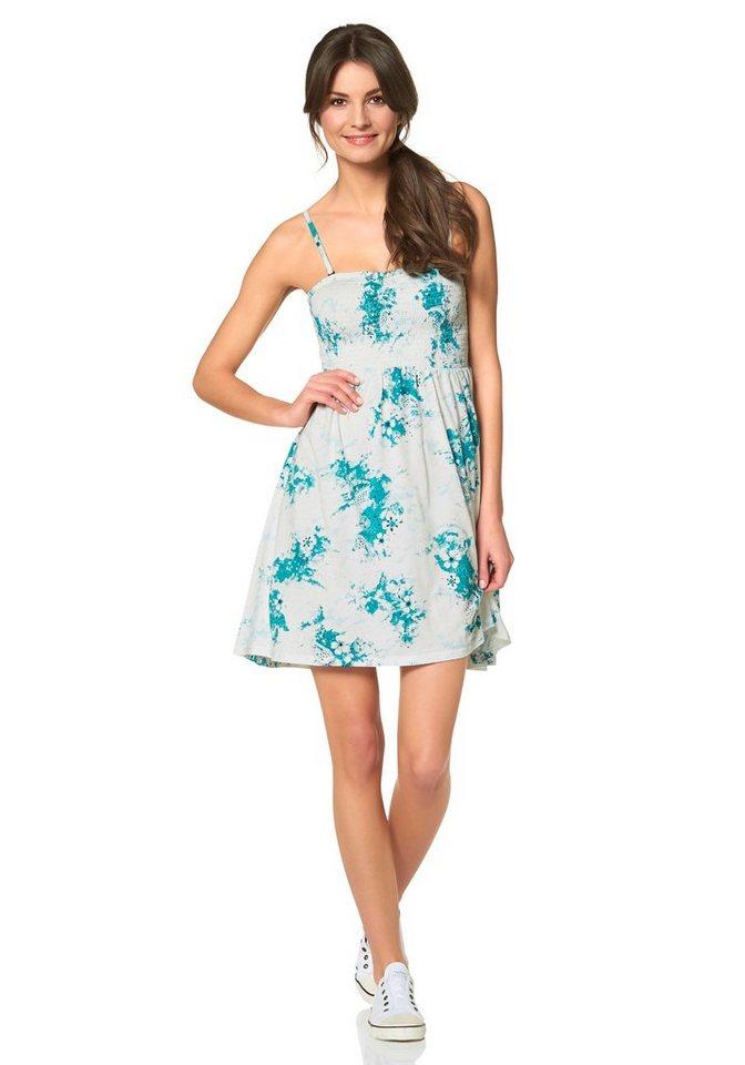 Billabong Jerseykleid »MONTERRICO« hinten etwas länger geschnitten als vorne in weiß