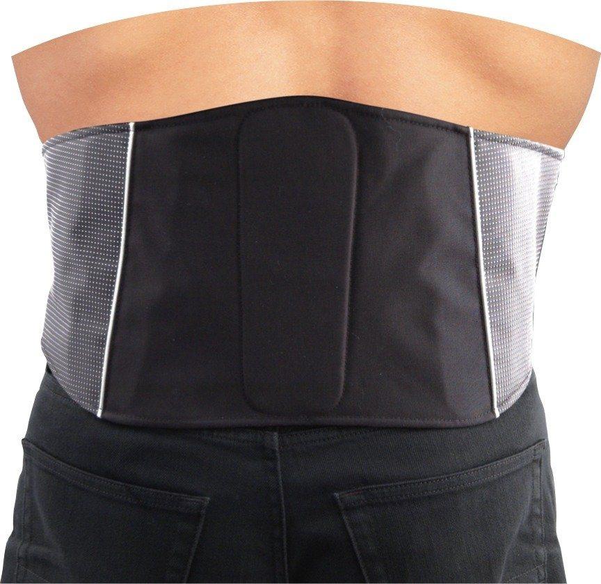 Roleff Racewear Nierengurt in grau/schwarz