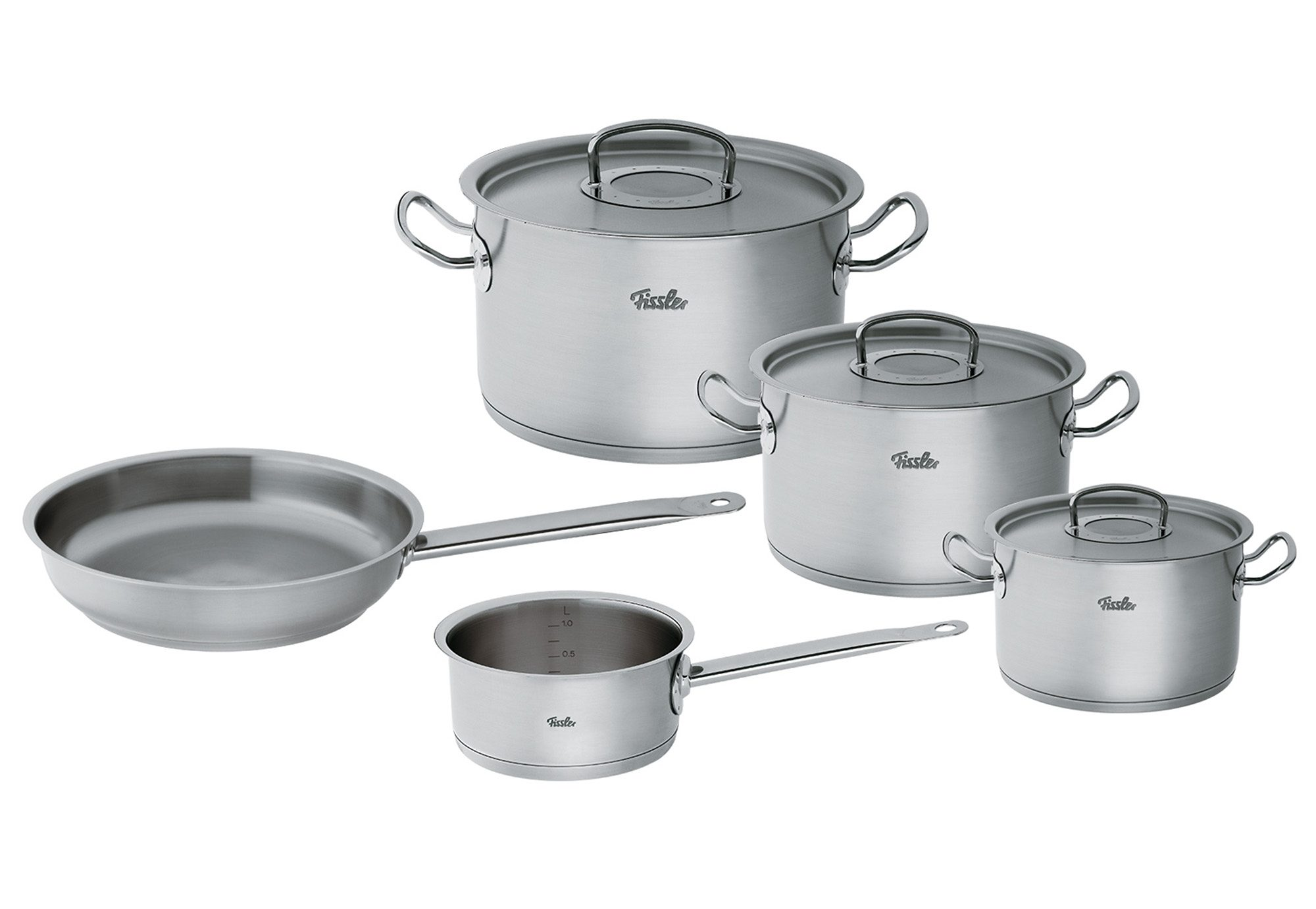 Topf-Set, Edelstahl 18/10, »orginal-profi collection«, Fissler (8tlg.)