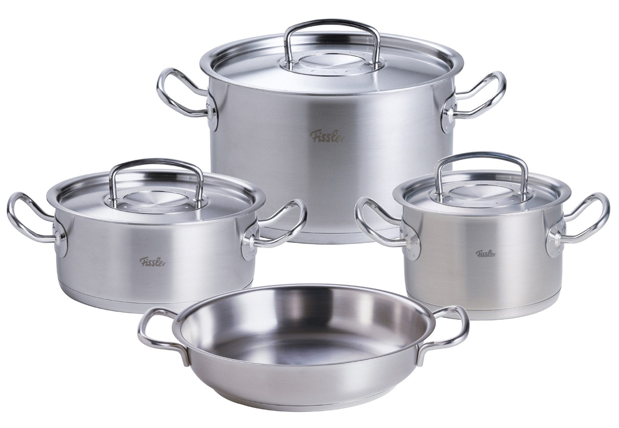 Kochtopf-Set, Edelstahl, »original-profi collection«, Fissler (7tlg.)