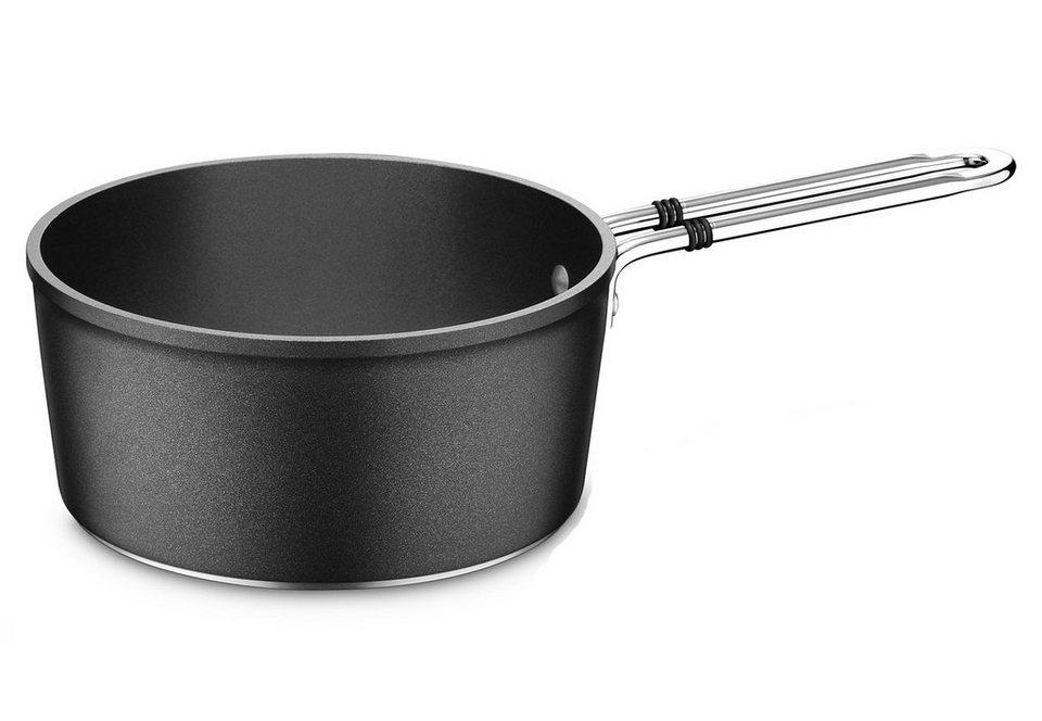 Stielkasserolle, Aluminium, Ø 18 cm, »luno«, Fissler in schwarz