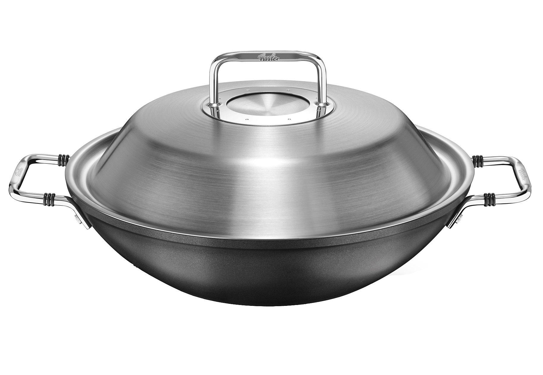 Wok, Aluminium, Ø 31 cm, »luno«, Fissler