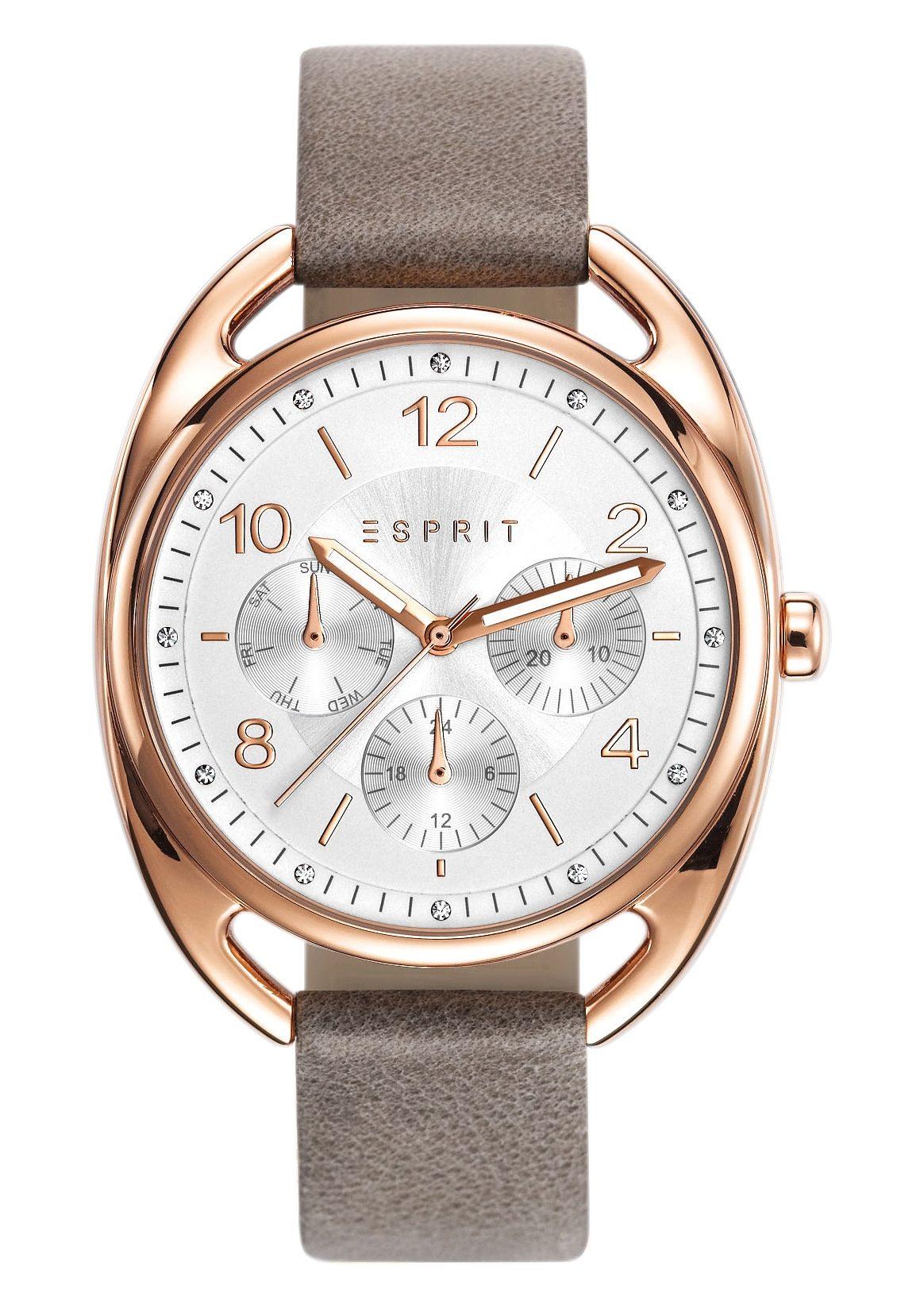 Esprit Multifunktionsuhr »ESPRIT-TP10817 TAUPE, ES108172003«