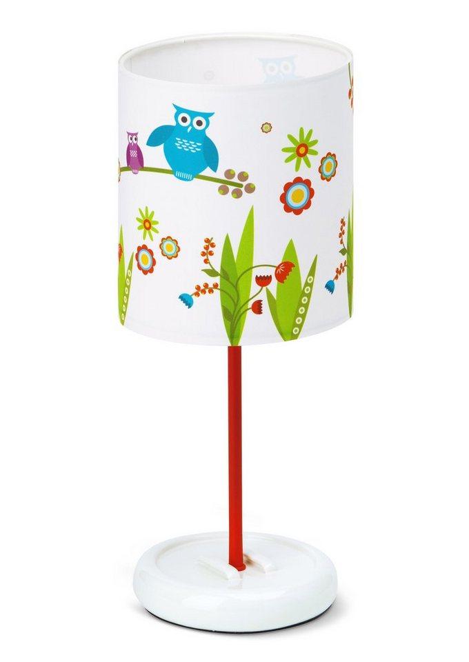 Tischleuchte, inkl. LED Leuchtmittel, Brilliant in bunt