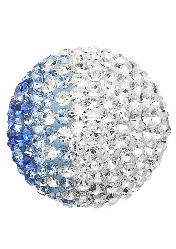 Engelsrufer, Klangkugel blau/weiß, »Crystal ERS-07-ZI« in blau/weiß