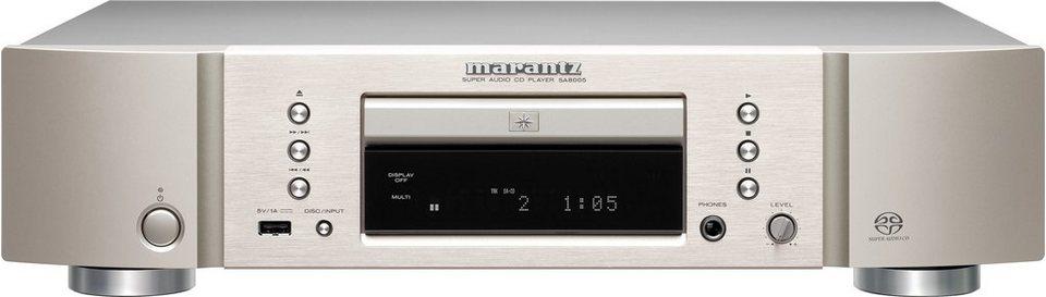 Marantz SA8005 CD-Player in silber