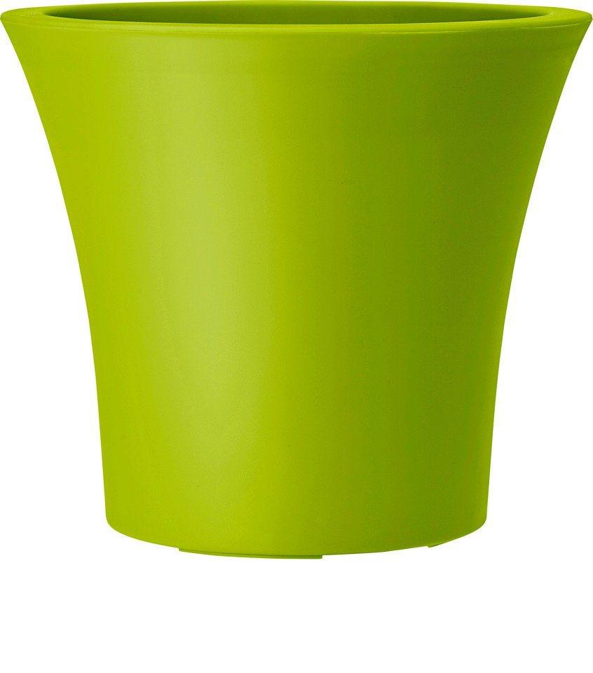 Blumenkübel »City Curve«, grün in grün