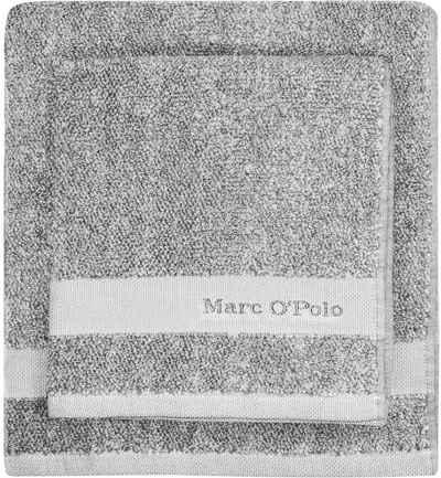 Marc O'Polo Home Duschtuch »Melange« (1-St), mit hübscher Logostickerei