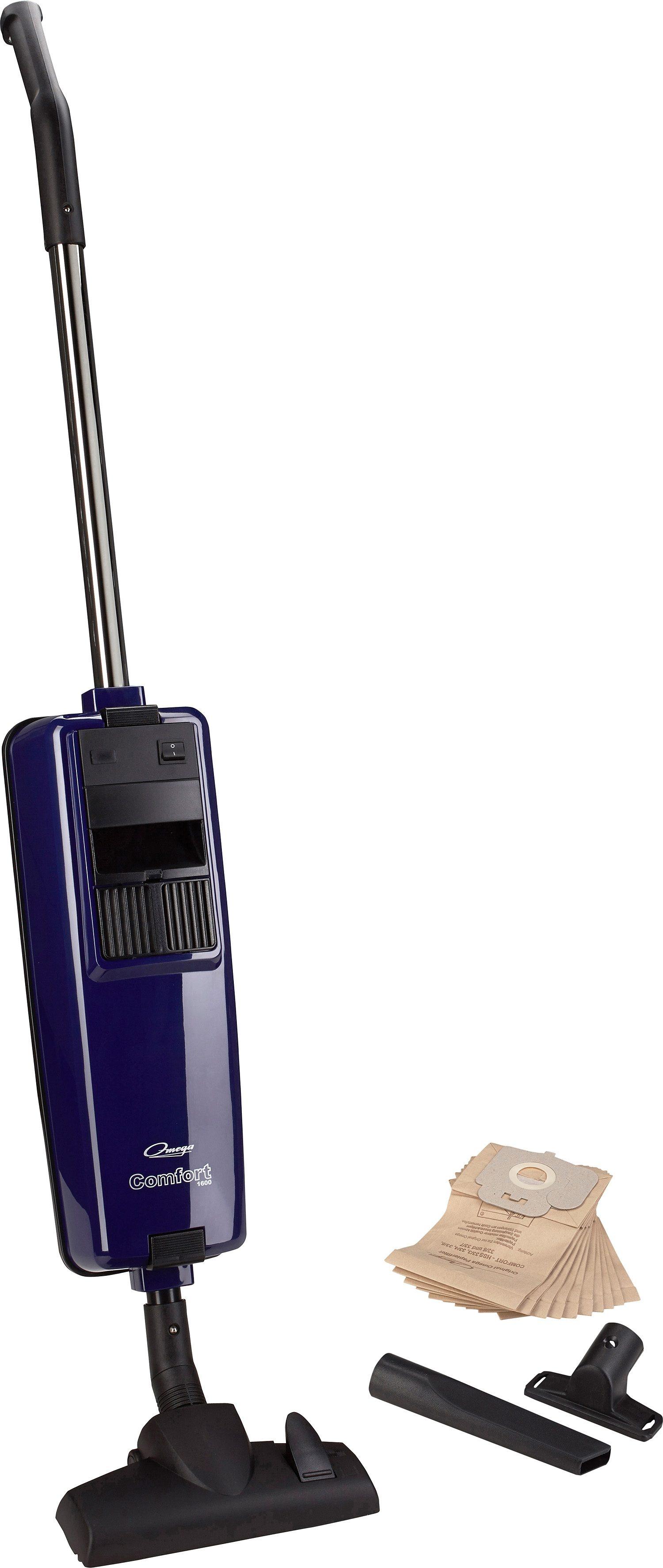 Omega Staubsauger Comfort 1600 plus, C, saphirblau