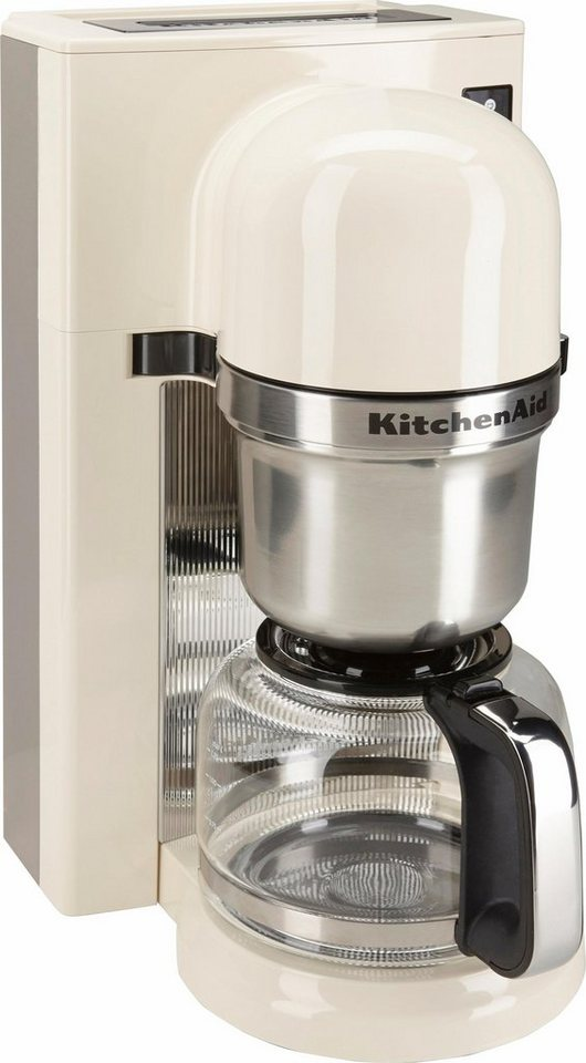 KitchenAid® Filterkaffeemaschine 5KCM0802EAC, crème in crème