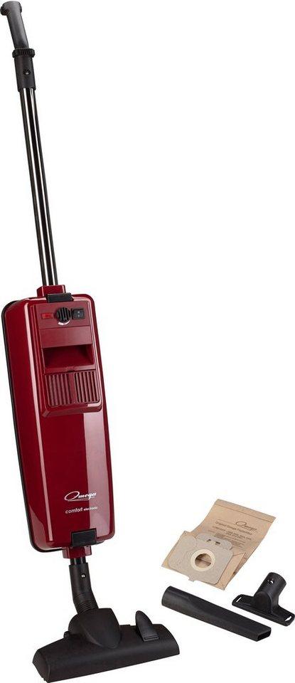 Omega Staubsauger Comfort electronic, C, rubinrot in rubinrot