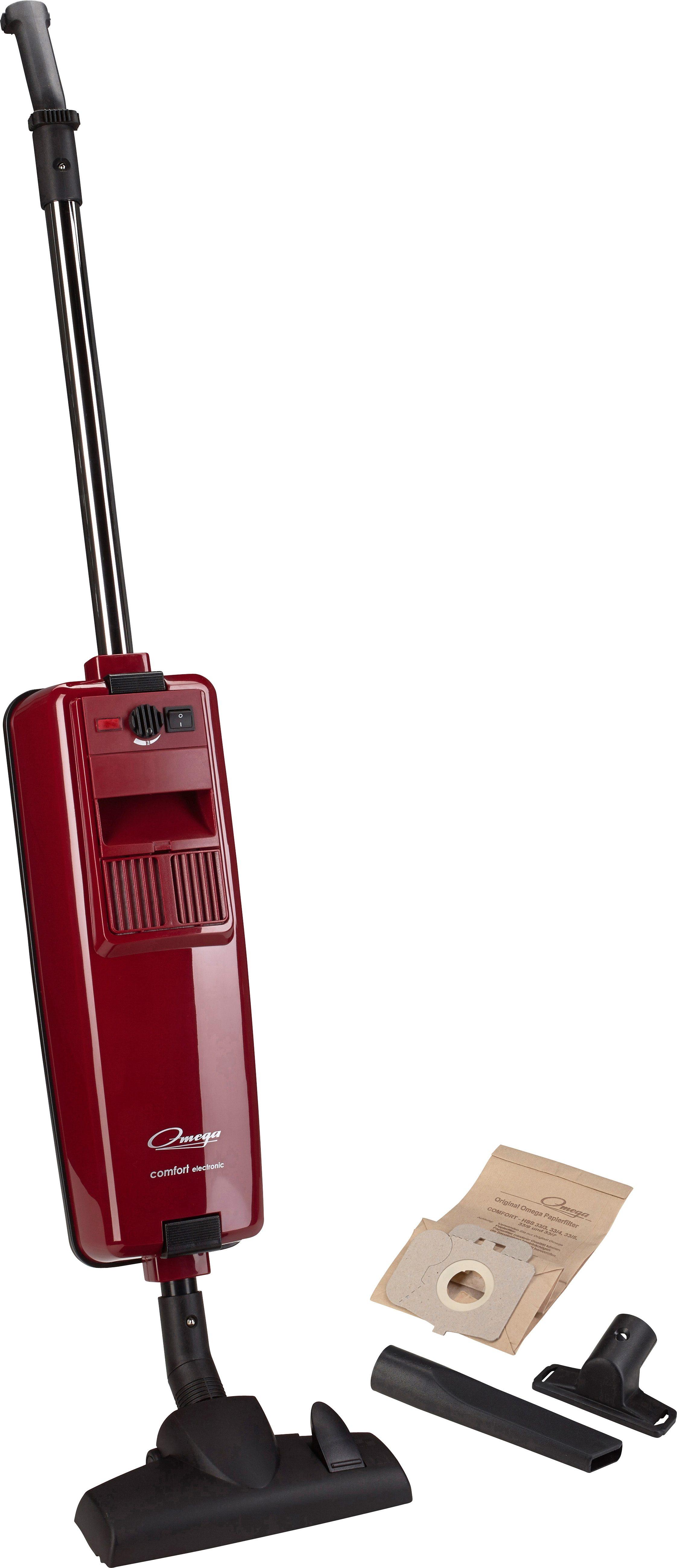 Omega Staubsauger Comfort electronic, C, rubinrot