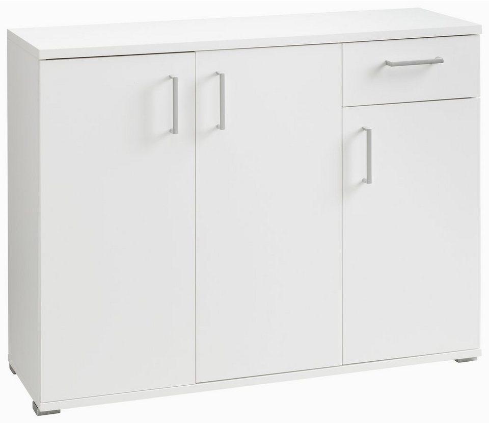 Kommode, CS Schmalmöbel, »Foxx«, Breite 108 cm in weiß