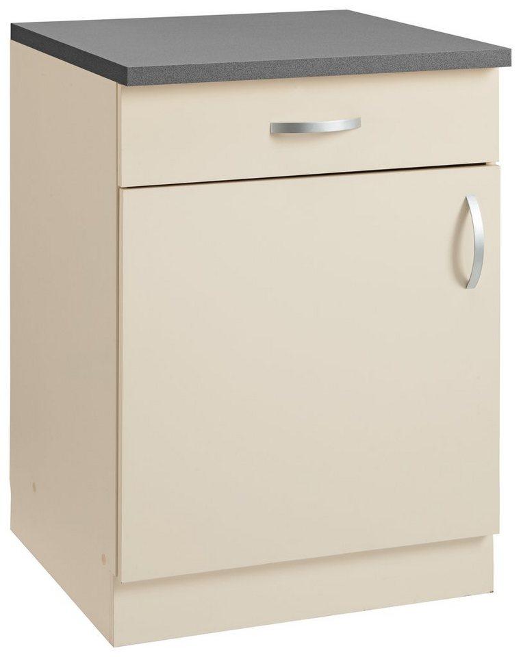 Unterschrank »Amrum« | Küche und Esszimmer > Küchenschränke > Küchen-Unterschränke | Gelb | wiho Küchen