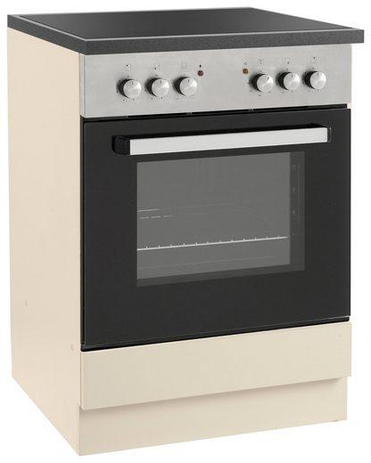wiho Küchen Herdumbauschrank »Amrum« 60 cm breit