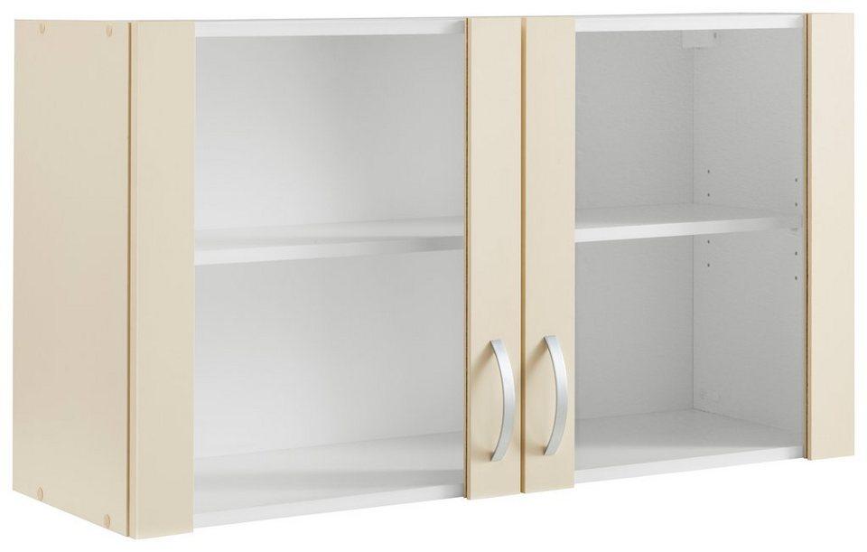 Glashängeschrank »Amrum« in Vanille