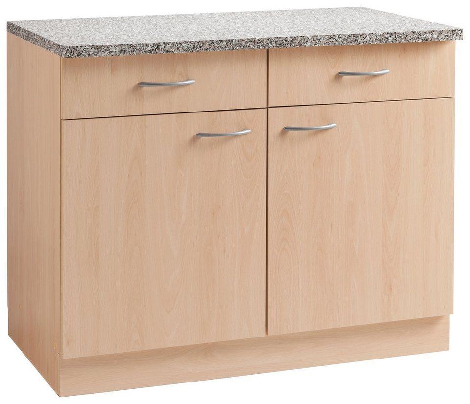 wiho Küchen Unterschrank »Kiel« 100 cm breit, in Tiefe 60 cm online kaufen  | OTTO