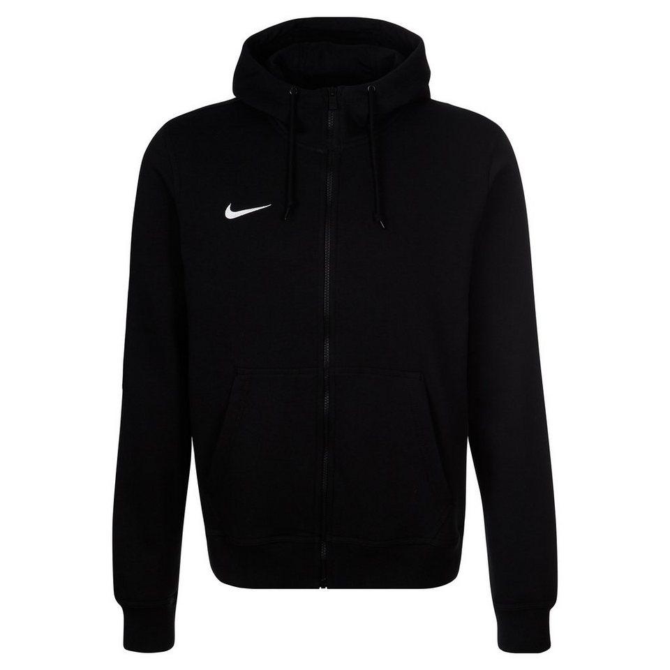 NIKE Team Club Trainingskapuzenjacke Herren in schwarz / weiß