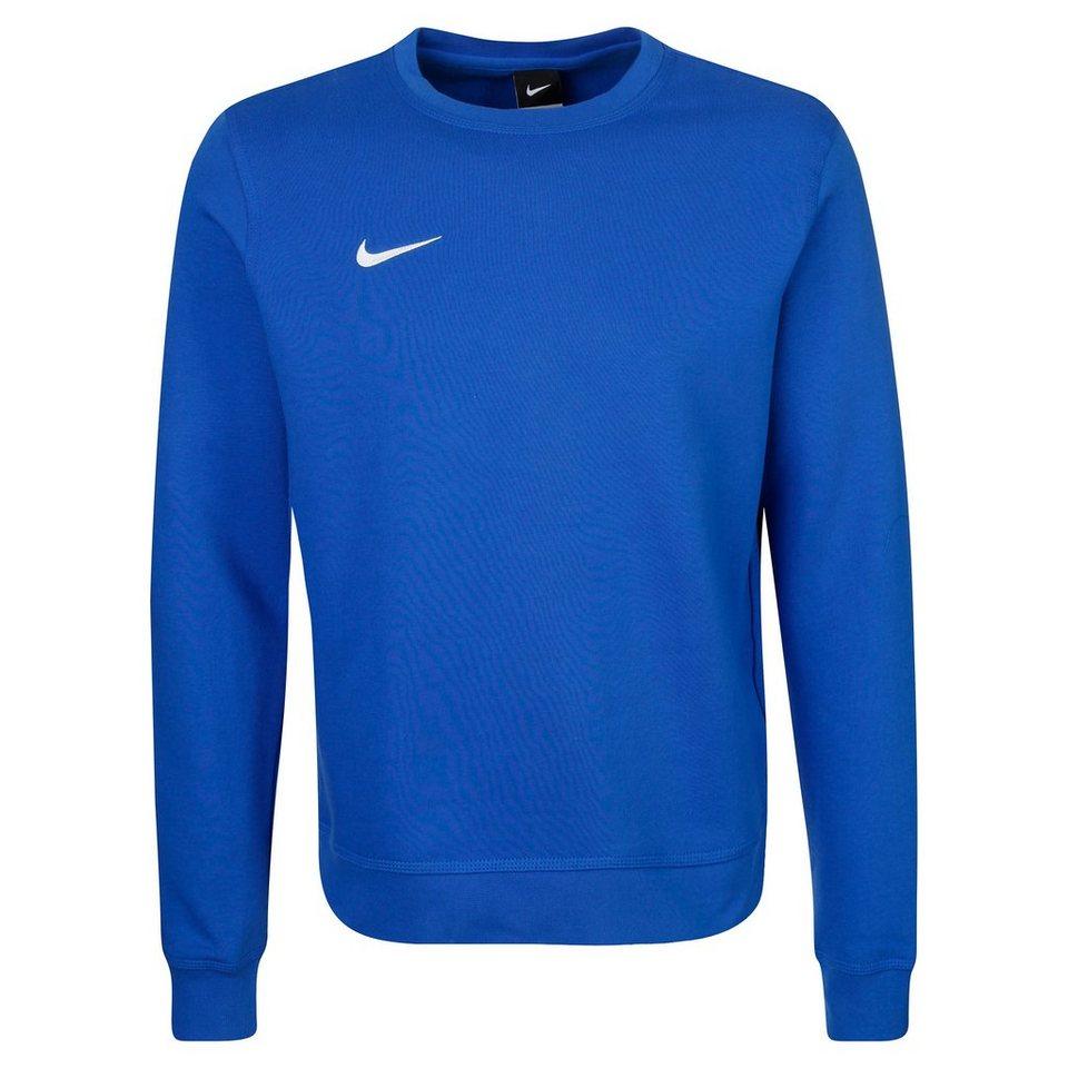 NIKE Team Club Crew Trainingssweat Herren in blau / weiß