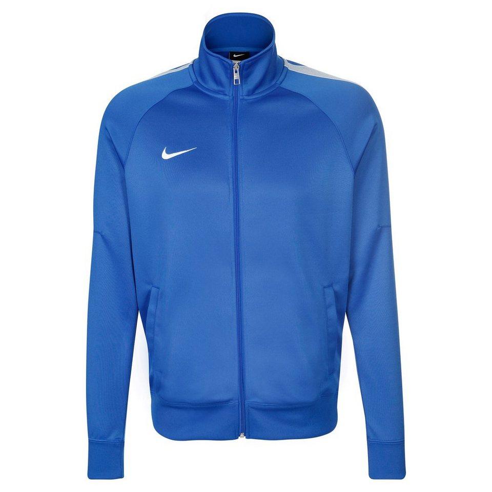 NIKE Team Club Trainingsjacke Herren in blau / weiß