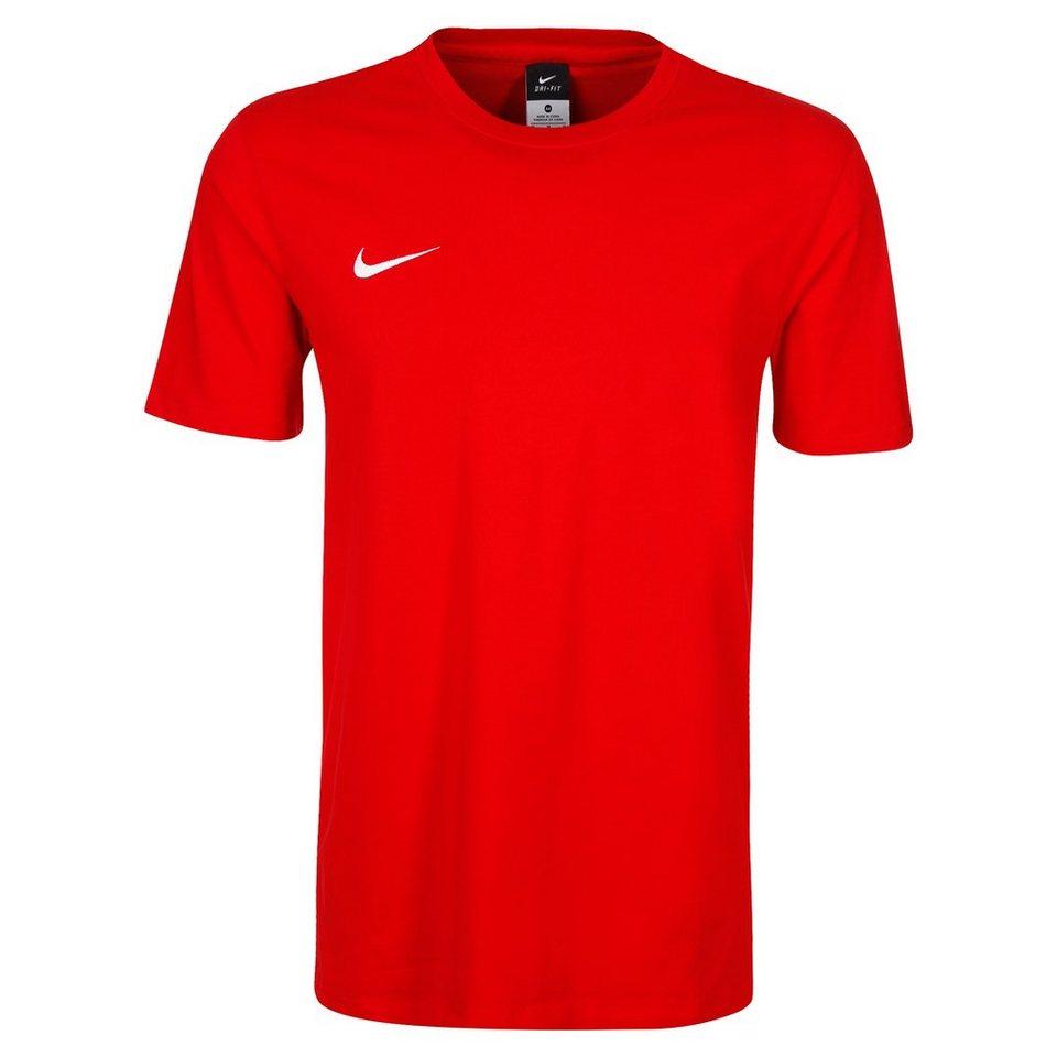 NIKE Team Club Blend Trainingsshirt Herren in rot / weiß