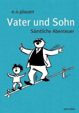 Buch mit Leinen-Einband »Vater und Sohn (Iris®-LEINEN mit Schmuckprägung)«