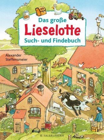 Gebundenes Buch »Das große Lieselotte Such- und Findebuch«