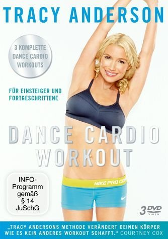 DVD »Die Tracy Anderson Methode - Dance Cardio...«