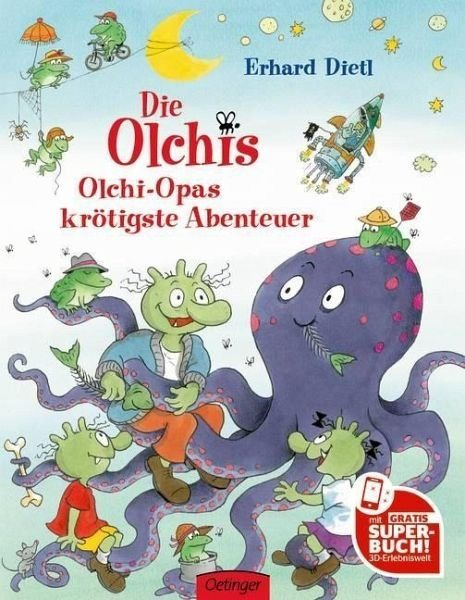 Gebundenes Buch »Olchi-Opas krötigste Abenteuer / Die Olchis Bd.5«