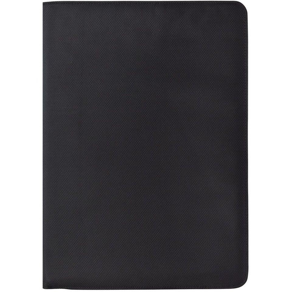 Dermata Schreibmappe 36,5 cm in schwarz