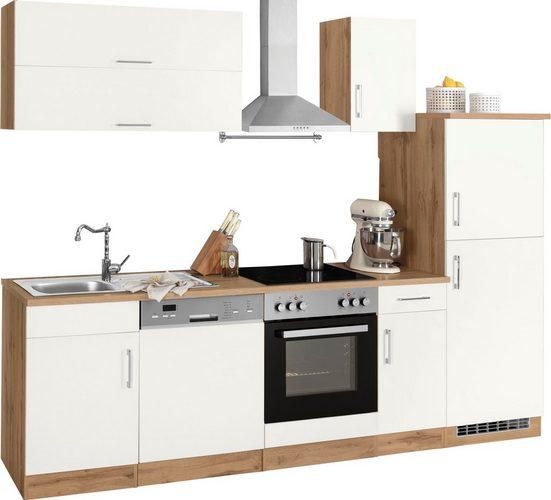 HELD MÖBEL Küchenzeile »Colmar«, mit E-Geräten, Breite 270 cm