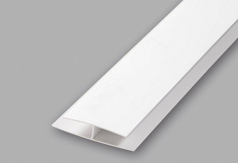 Verbindungsprofil, 2er-Set in weiß