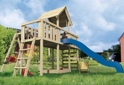 Karibu Spielturm »Rübezahl ECO« mit 2 Anbauten Sale Angebote Drebkau