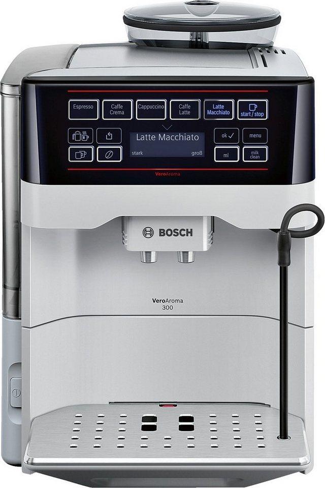 Bosch Kaffeevollautomat VeroAroma 300 TES60351DE in silber
