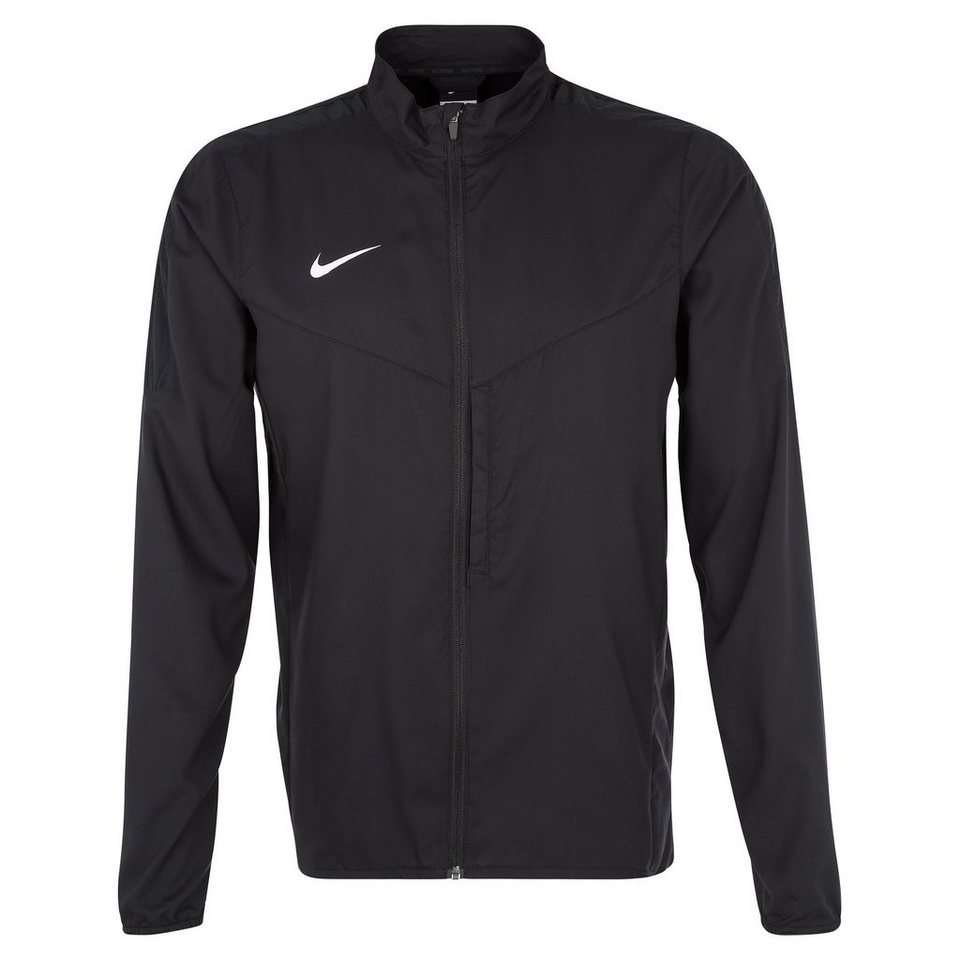 NIKE Team Performance Shield Trainingsjacke Herren in schwarz / weiß