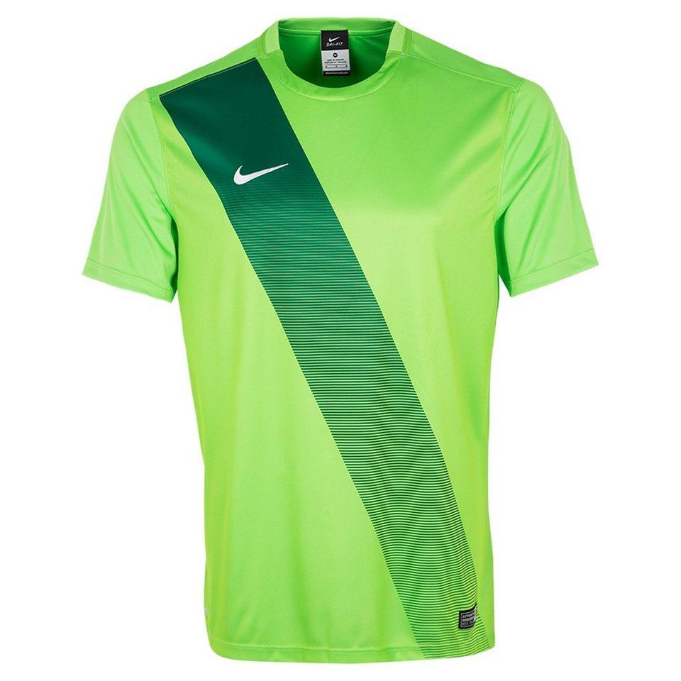 NIKE Sash Fußballtrikot Herren in grün / dunkelgrün