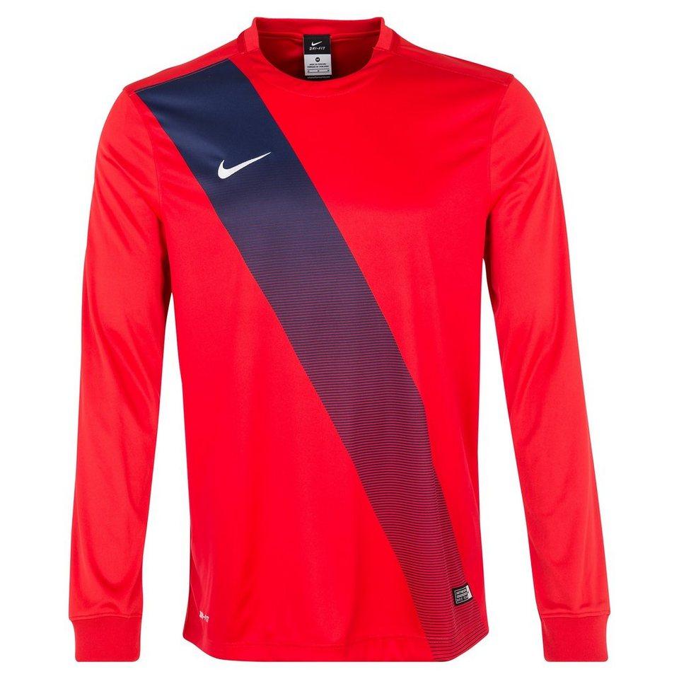 NIKE Sash Fußballtrikot Herren in rot / weiß