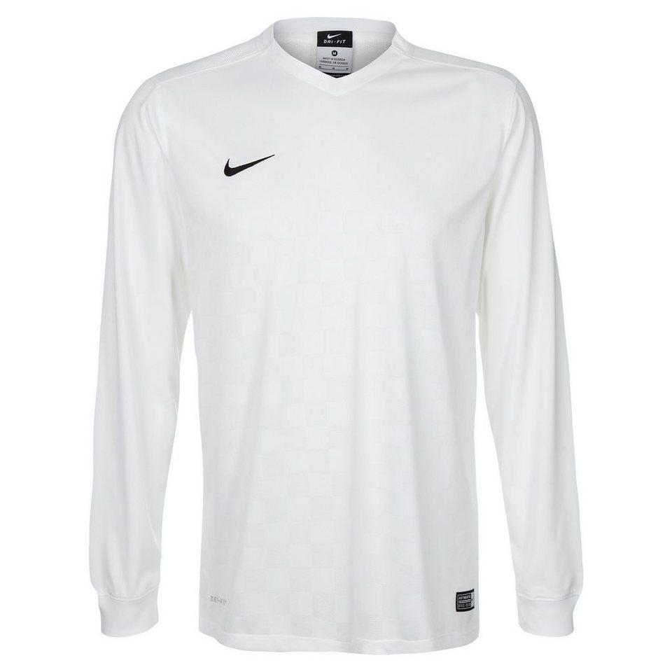 NIKE Energy III Fußballtrikot Herren in weiß / schwarz