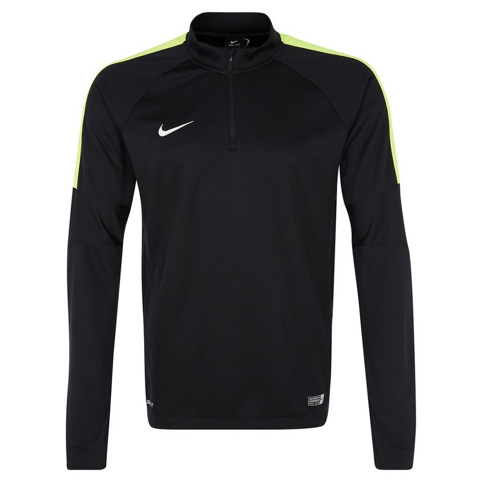 NIKE Squad 15 Ignite Midlayer Sweatshirt Herren in schwarz / lime